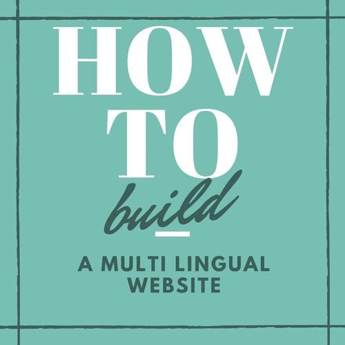 how to multi lingual web 500